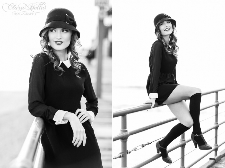 Lacey Senior Pictures Malibu California by Clara Bella Photography